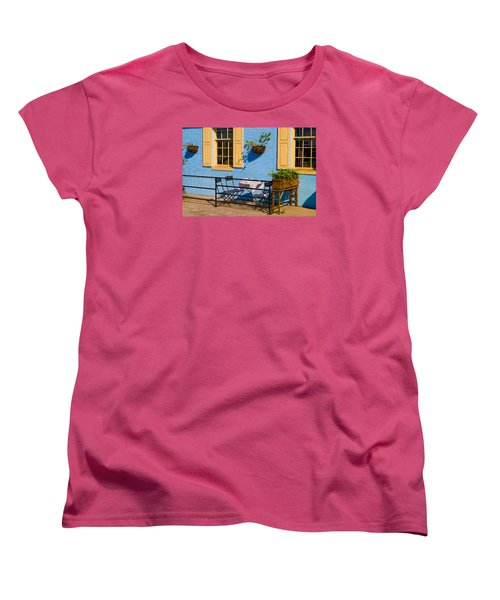 Dining Out Women's T-Shirt (Standard Cut) by Denis Lemay