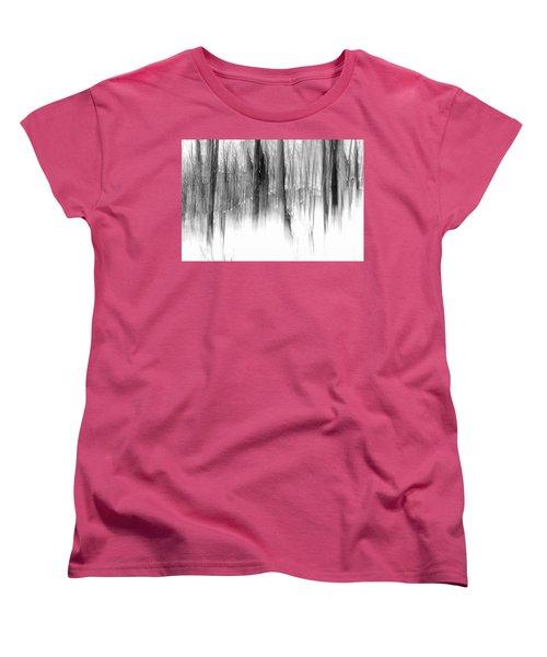 Women's T-Shirt (Standard Cut) featuring the photograph Disappearance by Steven Huszar