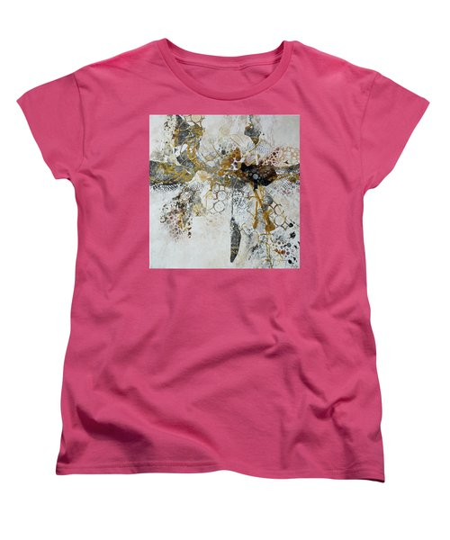 Women's T-Shirt (Standard Cut) featuring the painting Diversity by Joanne Smoley