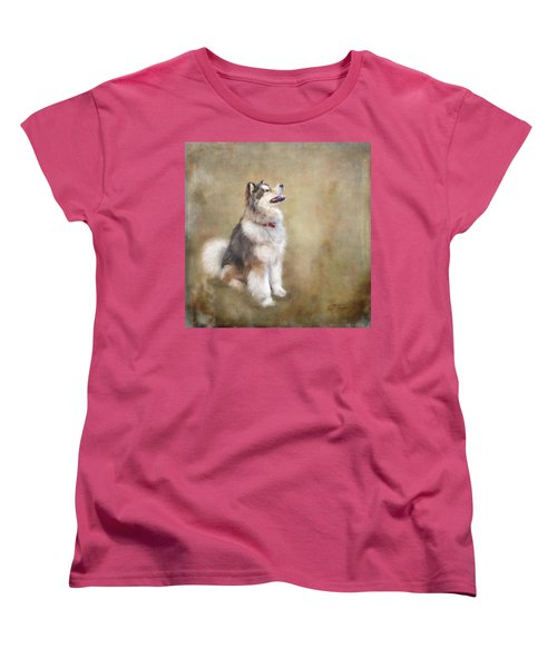Women's T-Shirt (Standard Cut) featuring the digital art Master Of The Domain by Colleen Taylor