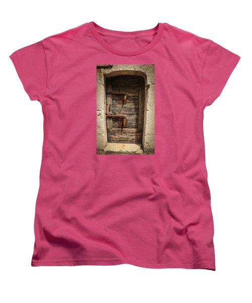 Doge's Jail Door Women's T-Shirt (Standard Cut) by Kathleen Scanlan