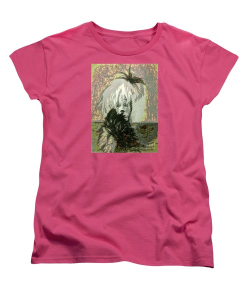 Doll Face  ... Women's T-Shirt (Standard Cut) by Chuck Caramella