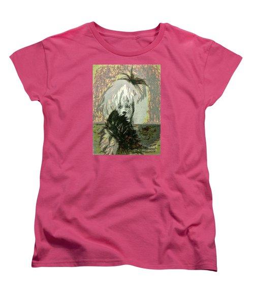 Women's T-Shirt (Standard Cut) featuring the photograph Doll Face  ... by Chuck Caramella