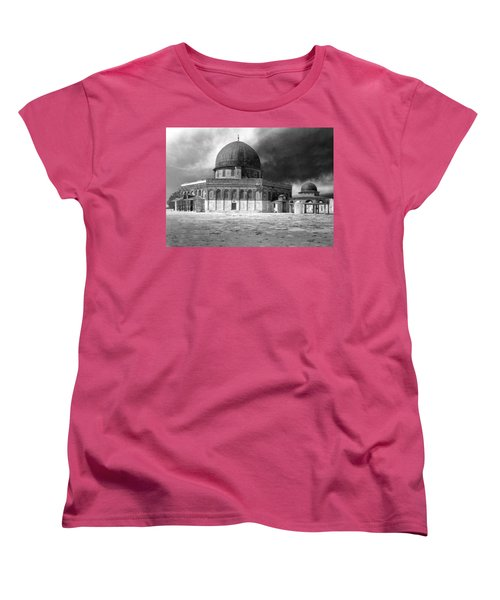 Dome Of The Rock - Jerusalem Women's T-Shirt (Standard Cut) by Munir Alawi