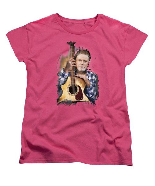 Don Henley Women's T-Shirt (Standard Cut) by Melanie D