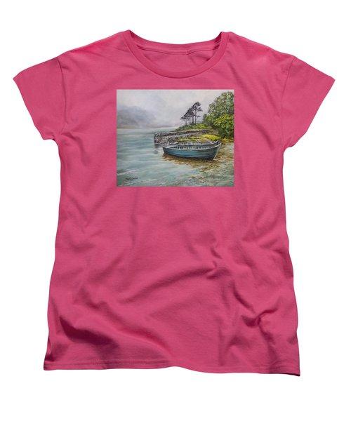 Doolough View Women's T-Shirt (Standard Cut) by Marty Garland