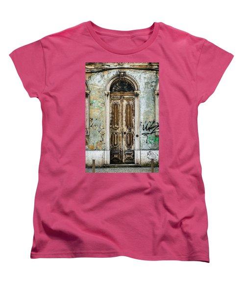 Door No 35 Women's T-Shirt (Standard Cut) by Marco Oliveira