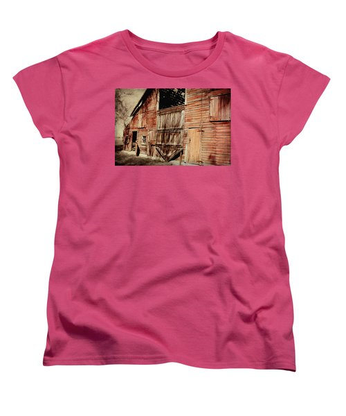 Doors Open Women's T-Shirt (Standard Cut) by Julie Hamilton