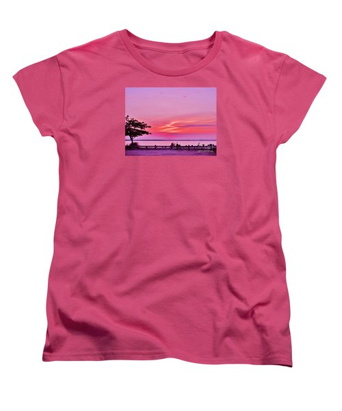 Summer Down The Shore Women's T-Shirt (Standard Cut)