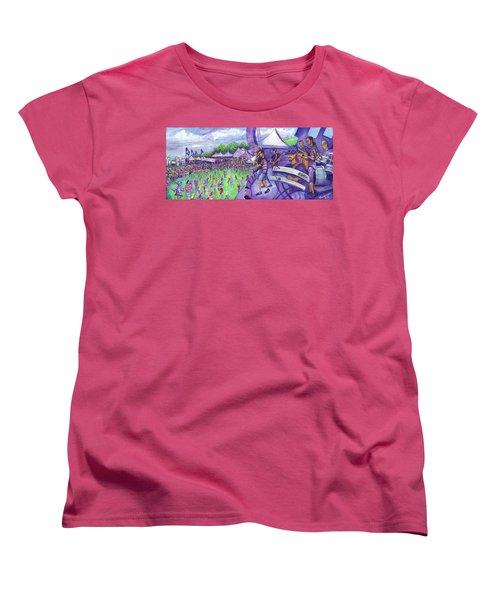 Down2funk At Arise Women's T-Shirt (Standard Cut) by David Sockrider