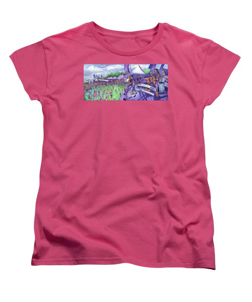 Down2funk At Arise Women's T-Shirt (Standard Cut)