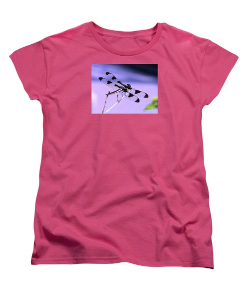 Dragonfly Women's T-Shirt (Standard Cut) by Susan  Dimitrakopoulos