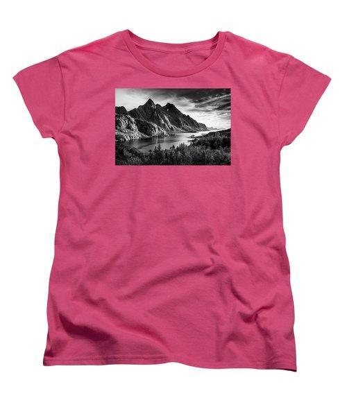 Dramatic Lofoten Women's T-Shirt (Standard Cut)