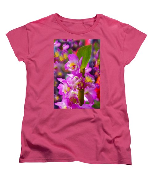 Women's T-Shirt (Standard Cut) featuring the photograph Dream Of Spring by Byron Varvarigos