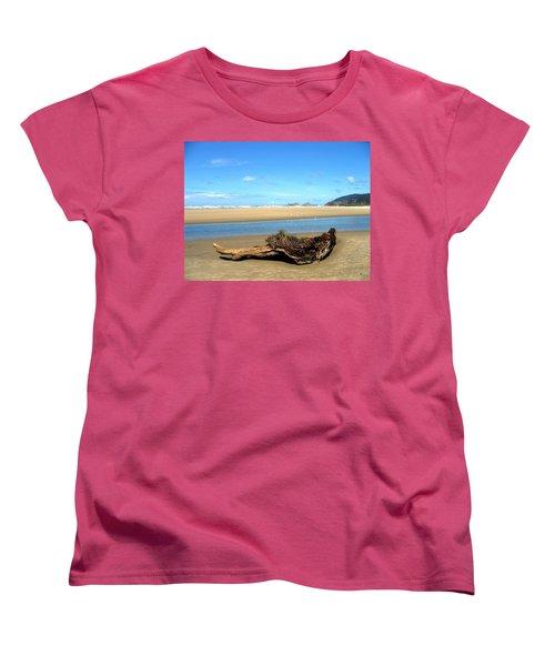 Driftwood Garden Women's T-Shirt (Standard Cut)
