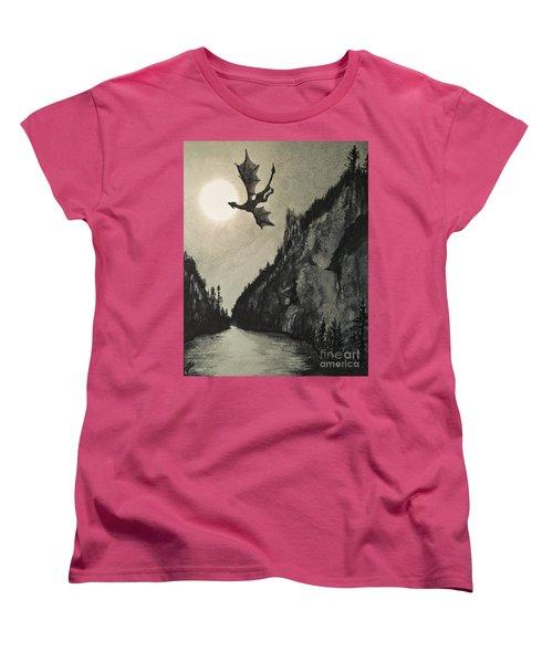 Drogon's Lair Women's T-Shirt (Standard Cut)