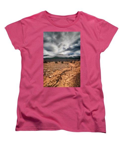 Women's T-Shirt (Standard Cut) featuring the photograph Drought by Ryan Manuel