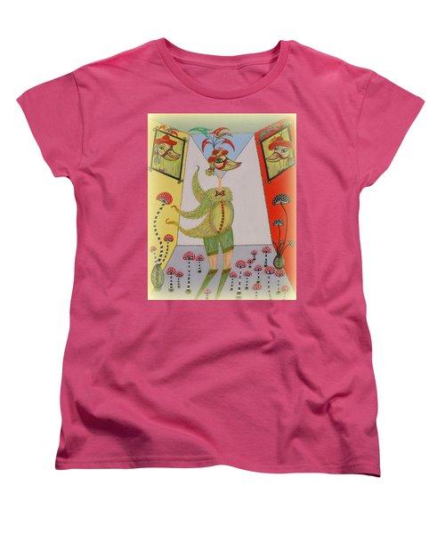 Duke's Adventure Women's T-Shirt (Standard Cut) by Marie Schwarzer