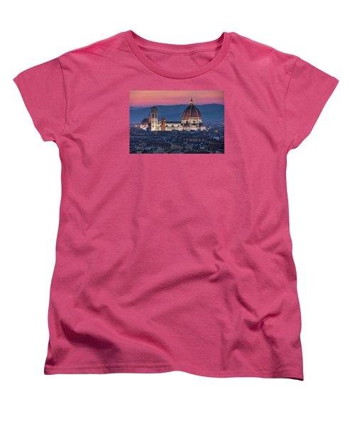 Duomo Di Firenze Women's T-Shirt (Standard Cut) by Brent Durken