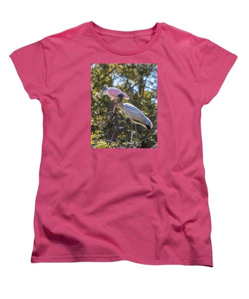 Dynamic Duo Women's T-Shirt (Standard Cut) by Patricia Schaefer