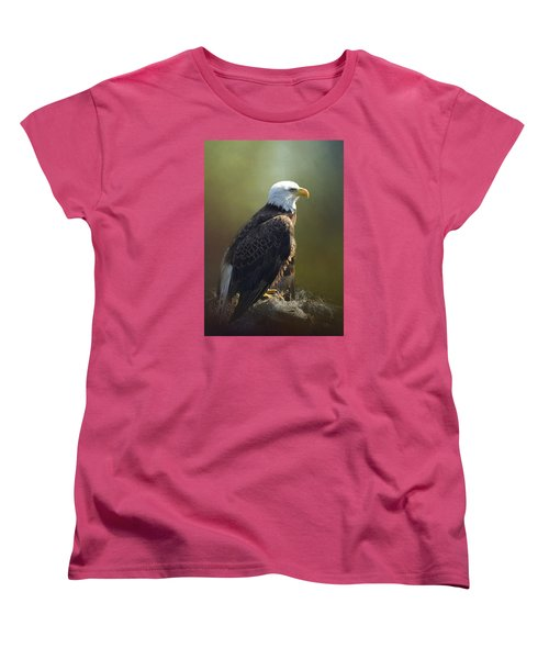 Eagles Rest Ministries Women's T-Shirt (Standard Cut) by Carla Parris