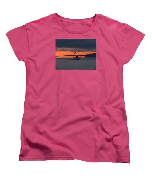 Women's T-Shirt (Standard Cut) featuring the photograph Early Arrivals by Mark Alan Perry