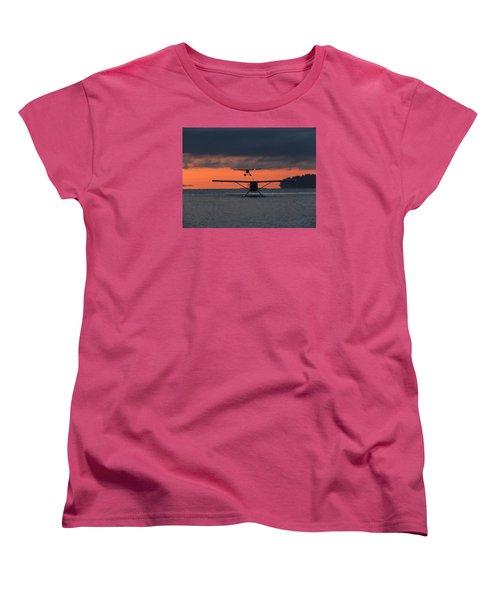 Early Arrivals Women's T-Shirt (Standard Cut) by Mark Alan Perry