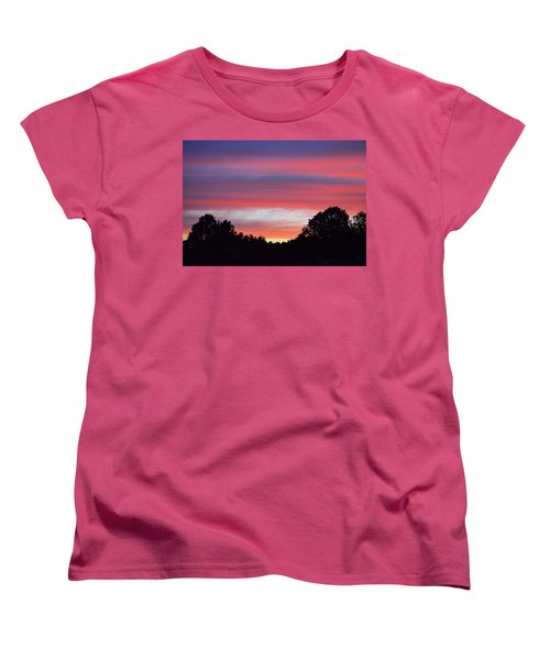 Early Morning Color Women's T-Shirt (Standard Cut) by Kathy Eickenberg