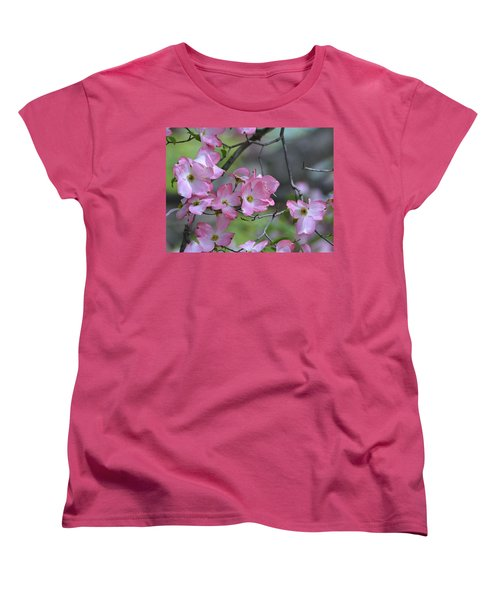 Early Spring Color Women's T-Shirt (Standard Cut) by Kathy Eickenberg
