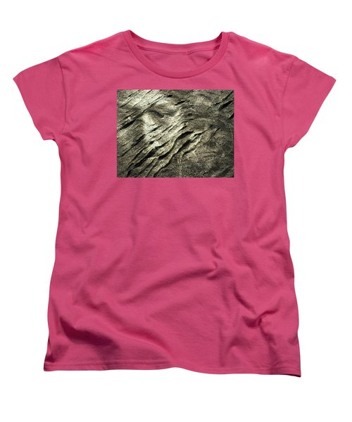 Women's T-Shirt (Standard Cut) featuring the photograph Earth Memories - Sleeping River # 4 by Ed Hall