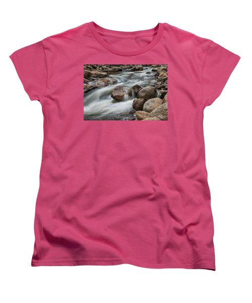 Women's T-Shirt (Standard Cut) featuring the photograph Easy Flowing by James BO Insogna
