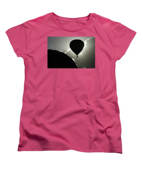 Women's T-Shirt (Standard Cut) featuring the photograph Eclipse by Marie Leslie