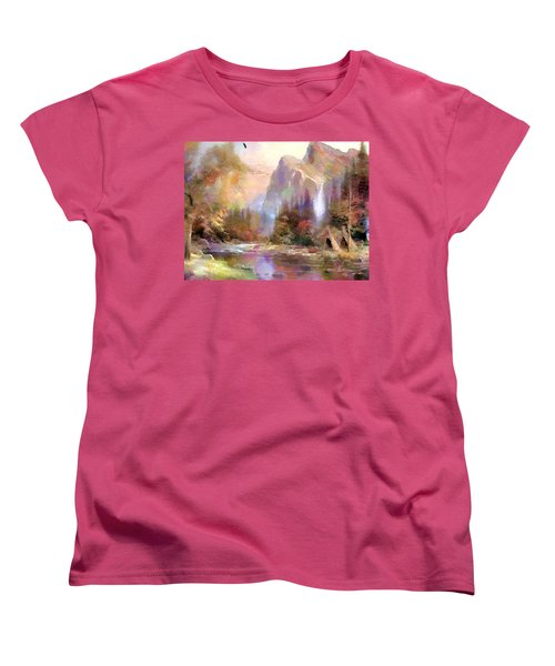 Eden Women's T-Shirt (Standard Cut) by Wayne Pascall