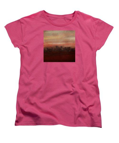 Edmonton At Sunset Women's T-Shirt (Standard Cut)