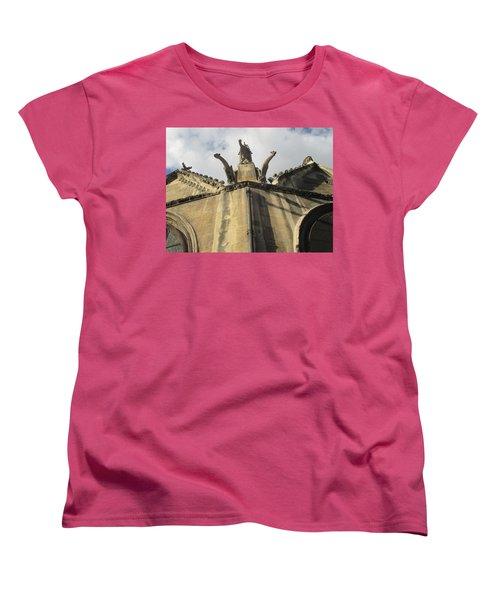 Women's T-Shirt (Standard Cut) featuring the photograph Eglise Saint-severin, Paris by Christopher Kirby
