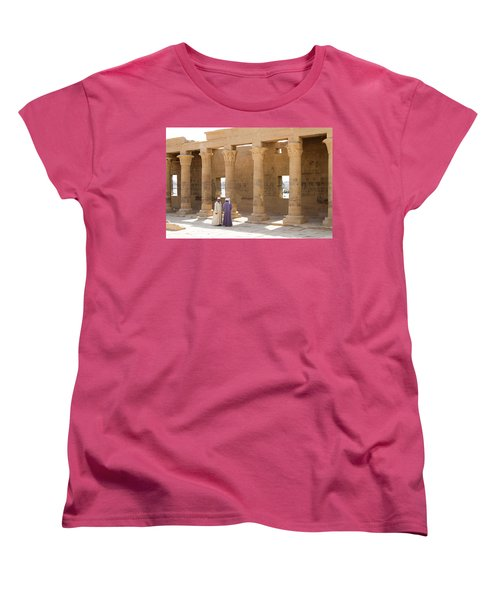 Egyptians Women's T-Shirt (Standard Cut) by Silvia Bruno
