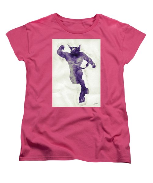 El Torito Guapo Women's T-Shirt (Standard Cut) by Joaquin Abella