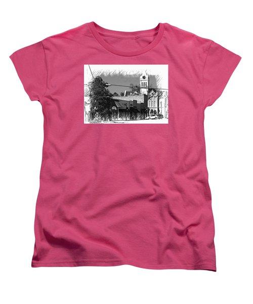 Women's T-Shirt (Standard Cut) featuring the photograph Ellaville, Ga - 3 by Jerry Battle