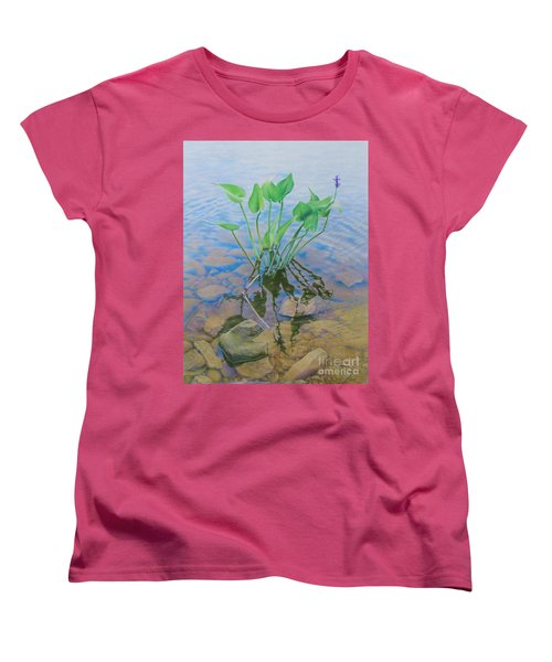 Ellie's Touch Women's T-Shirt (Standard Cut) by Pamela Clements