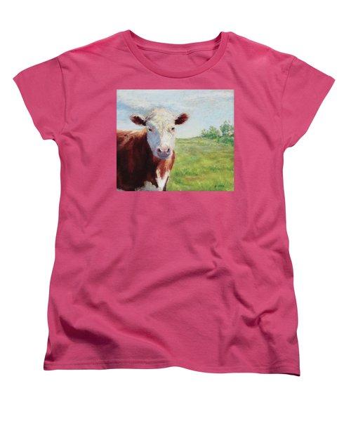 Emmett Women's T-Shirt (Standard Cut) by Vikki Bouffard