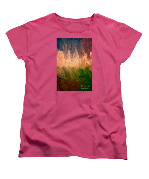 Emotion Women's T-Shirt (Standard Cut) by Roberta Byram