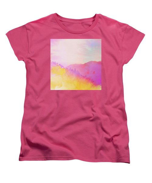Enchanted Scenery #2 Women's T-Shirt (Standard Cut) by Klara Acel