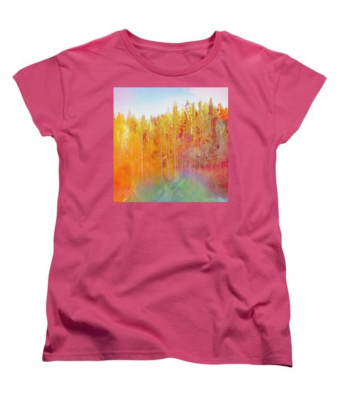 Enchanted Scenery #3 Women's T-Shirt (Standard Cut) by Klara Acel