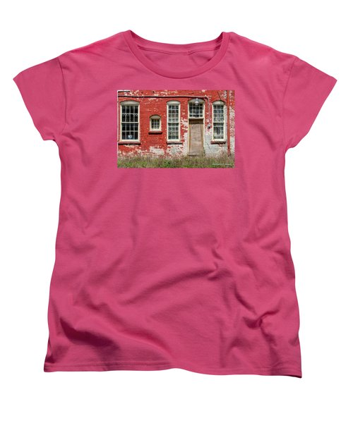 Women's T-Shirt (Standard Cut) featuring the photograph Enough Windows by Christopher Holmes
