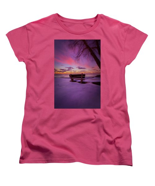 Women's T-Shirt (Standard Cut) featuring the photograph Enters The Unguarded Heart by Phil Koch