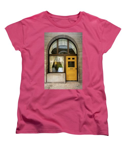 Entry Geometrics Women's T-Shirt (Standard Cut) by Christopher Holmes