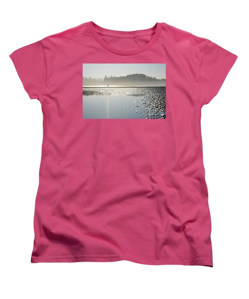 Ethereal Reflection Women's T-Shirt (Standard Cut)