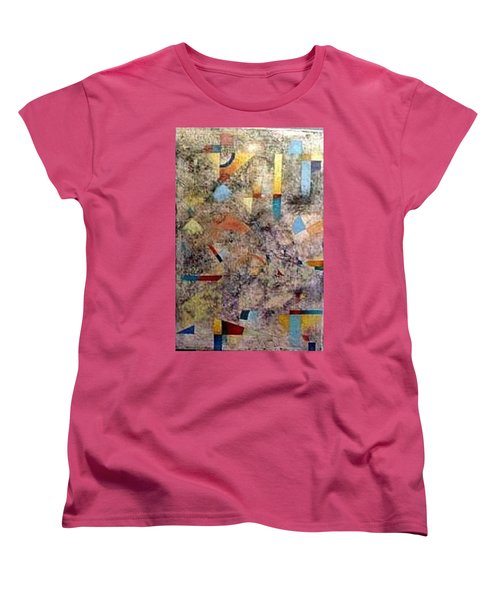Euclidean Perceptions Women's T-Shirt (Standard Cut) by Bernard Goodman
