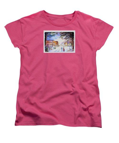 Evening In Dunnville Women's T-Shirt (Standard Cut)