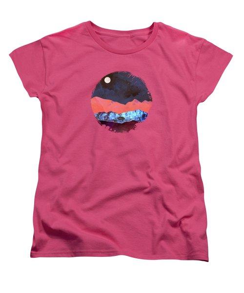 Evening Moon Women's T-Shirt (Standard Fit)
